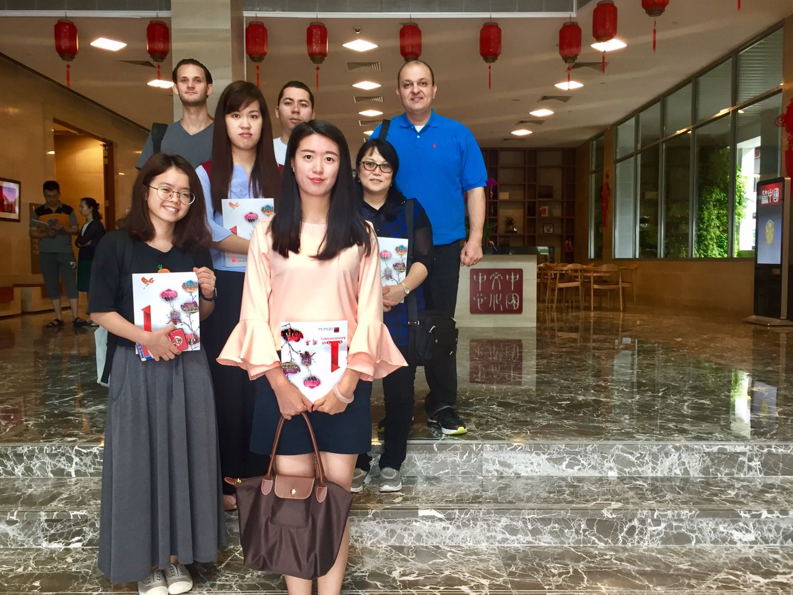 中国文化中心参观活动