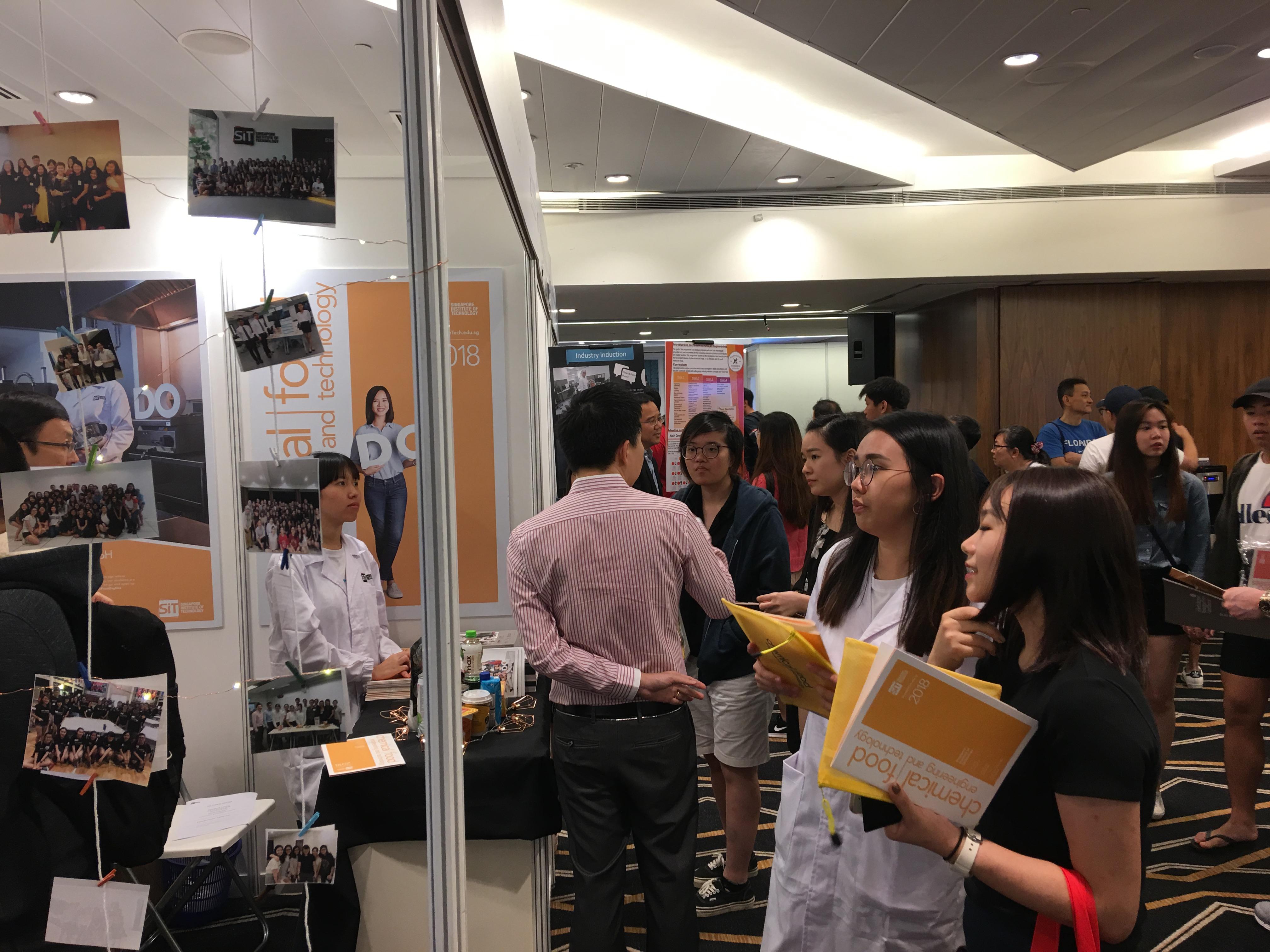 我校学生参观新加坡理工大学